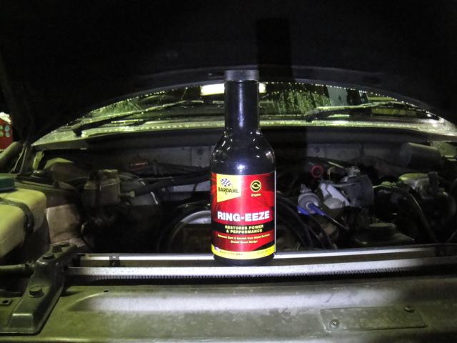 遅効型エンジンオイル(フラッシング)添加剤