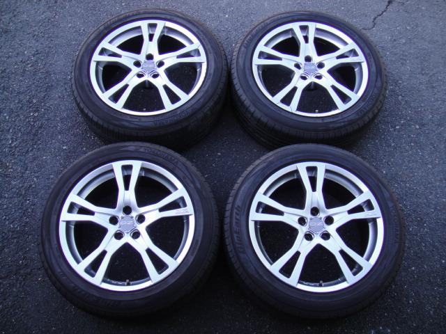 ボルボXC70(SB系~2007年)OZ製アルミ/タイヤセット販売いたします