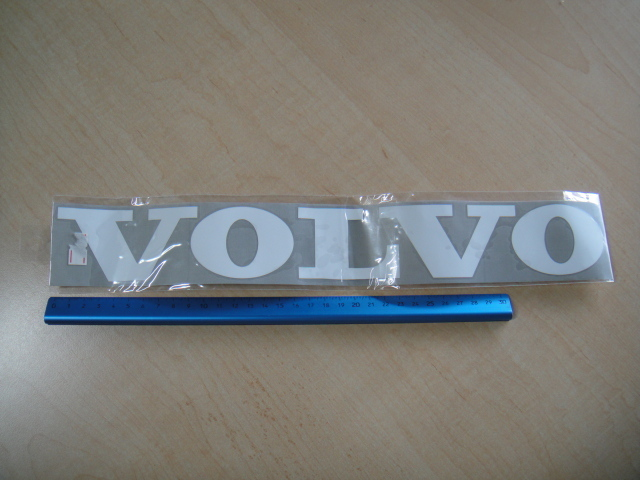 懐かしの・・・『VOLVO』切り文字ステッカー