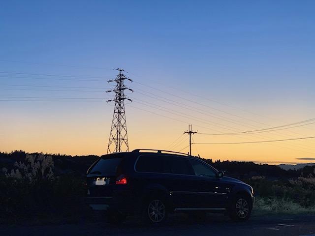 テストドライブ/夕焼け